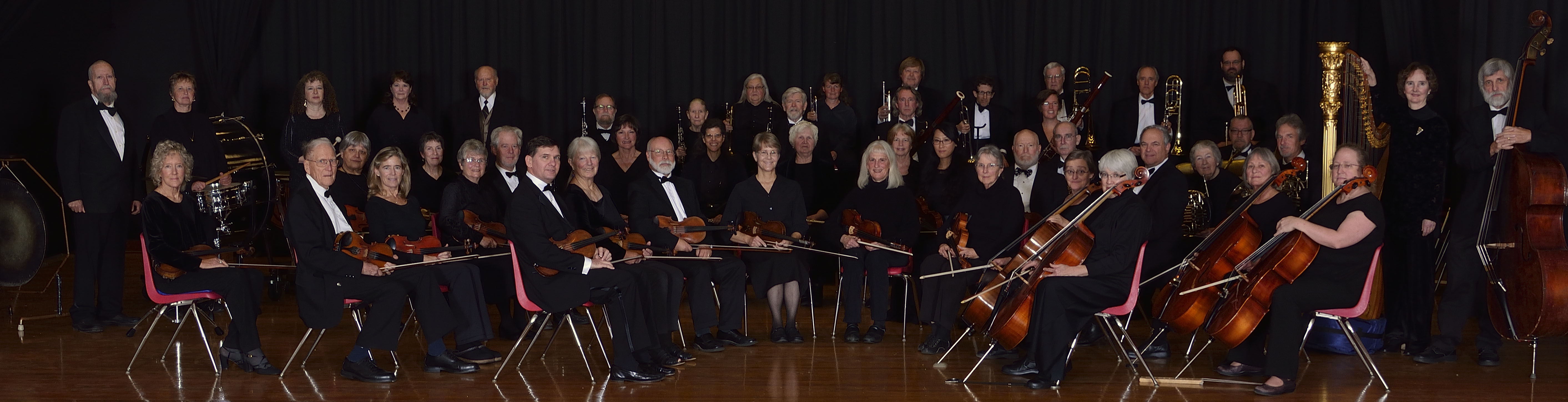 Port Townsend Community Orchestra, October 2015.